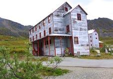 Het milieu van Alaska heeft zijn tol genomen royalty-vrije stock foto
