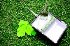Het milieuvriendelijke schilderen Royalty-vrije Stock Fotografie