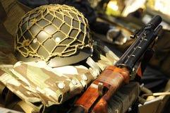 Het militaire leven Royalty-vrije Stock Afbeelding
