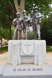 Het militaire monument in Mafra, Portugal royalty-vrije stock fotografie