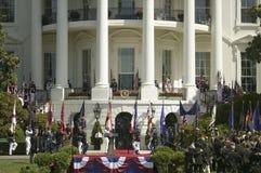 Het militaire takken marcheren Royalty-vrije Stock Afbeeldingen