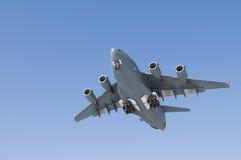 Het militaire Vliegtuig van het Vervoer Stock Afbeeldingen