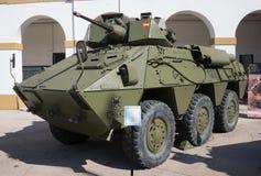 Het Militaire Voertuig van Spanje stock afbeeldingen
