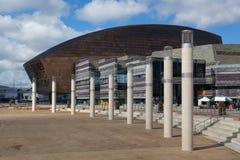 Het Millenniumcentrum van Cardiff Stock Afbeeldingen