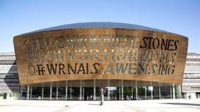 Het Millenniumcentrum van Cardiff royalty-vrije stock foto