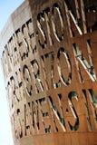 Het Millenniumcentrum van Wales, Cardiff stock fotografie