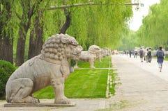 Het Ming-gravenmausoleum Stock Fotografie