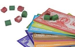 Het mini Geld van het Huis Stock Afbeelding