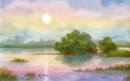 Het mirakel van de zonsopgang Royalty-vrije Stock Foto