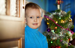 Het Mirakel van Kerstmis Stock Foto's