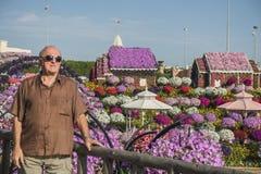 Het Mirakeltuin van Doubai stock foto