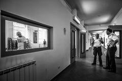 Het misdadige Psychiatrische Ziekenhuis Stock Fotografie