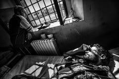 Het misdadige Psychiatrische Ziekenhuis Stock Foto