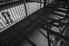 Het misdadige Psychiatrische Ziekenhuis Royalty-vrije Stock Afbeeldingen