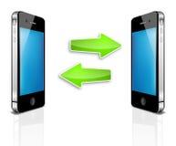 Het mobiele apparaat van de luxe Stock Foto's