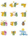 Het mobiele leven vector illustratie
