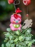 Het mobiele pop hangen in tuin voor decoratie royalty-vrije stock foto