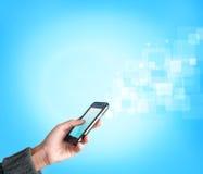 Het mobiele telefoon stromen Royalty-vrije Stock Afbeeldingen