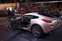 Het model 2009 van de Zonnestilstand van Pontiac stock foto's