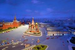 Het model van ?ardboard van Rood Vierkant in Moskou Royalty-vrije Stock Afbeeldingen