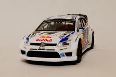 Het Model van BBuragovw polo R WRC 1/43 Stock Afbeeldingen