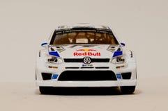 Het Model van BBuragovw polo R WRC 1/43 Royalty-vrije Stock Foto's