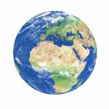 Het model van de aarde Stock Afbeeldingen