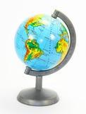 Het model van de Aarde is een bol. Royalty-vrije Stock Afbeelding