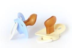 Het model van de Baby - Fopspeen Stock Foto's