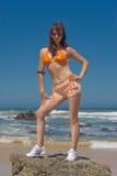 Het Model van de bikini Royalty-vrije Stock Foto's