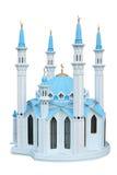Het model van de broodplank van een moskee Kul Sharif. Rusland. Stock Fotografie
