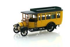 Het model van de bus stock afbeelding