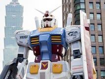 Het model van de Gundamrobot Stock Afbeelding