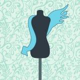Het model van de kleermaker royalty-vrije illustratie
