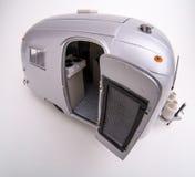 Het Model van de Schaal van de Kampeerauto van de luchtstroom rv Royalty-vrije Stock Afbeeldingen