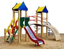 Het model van de speelplaats Royalty-vrije Stock Fotografie