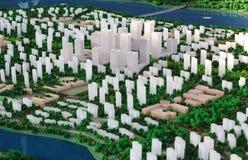 Het Model van de stad Royalty-vrije Stock Foto