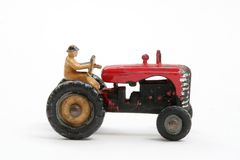 Het model van de tractor Stock Foto