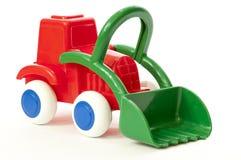 Het Model van de Tractor van de bouw Stock Afbeeldingen