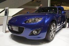 Het Model van de Verjaardag van Mazda MX5 twintigste Royalty-vrije Stock Foto