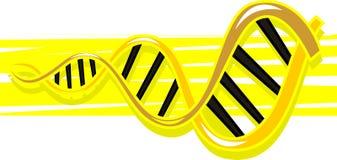 Het model van DNA Royalty-vrije Stock Afbeeldingen