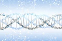 Het model van DNA Stock Afbeelding