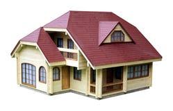 Het model van het huis Stock Fotografie