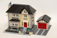 Het Model van het huis Stock Afbeeldingen