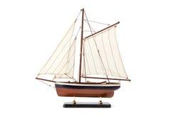 Het model van het schip Stock Foto