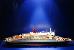 Het model van het schip Royalty-vrije Stock Afbeelding