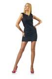 Het model van Nice in studiospruit Royalty-vrije Stock Fotografie