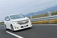 Het Model van Nissan ENGRAND 2012 Royalty-vrije Stock Foto