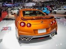 Het model 2019 van Nissan GTR royalty-vrije stock afbeelding