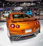 Het model 2019 van Nissan GTR stock fotografie